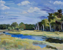 Scarborough Marsh High Tide (thumbnail)
