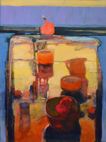 STILL LIFE WITH POMEGRANATE: 952
