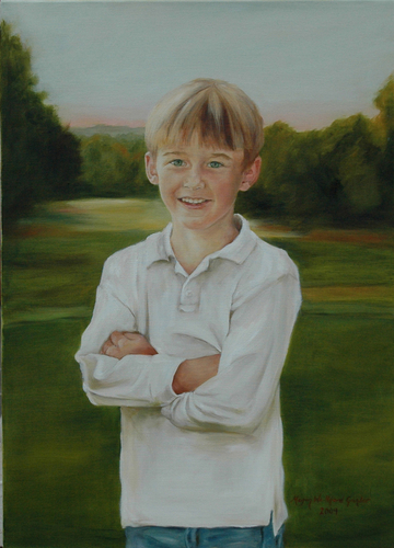 Alex, age 8
