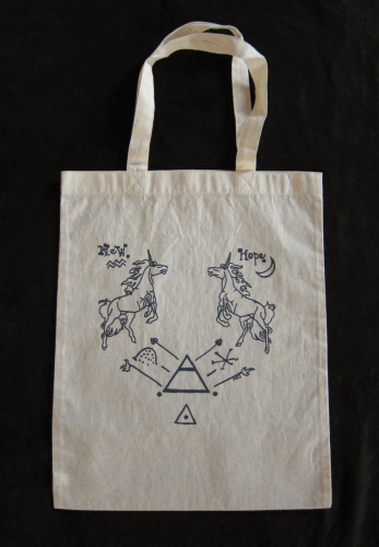 Unicorn Tote  by Mariana Sparre