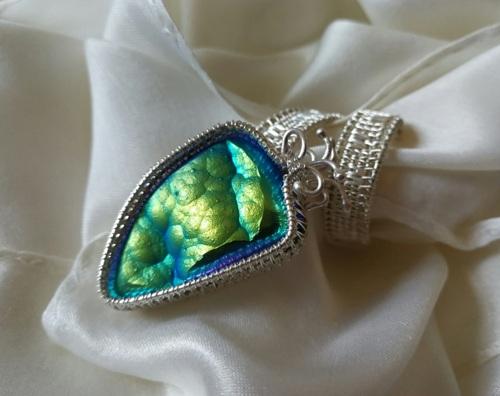 Botryoidal Agate Ring