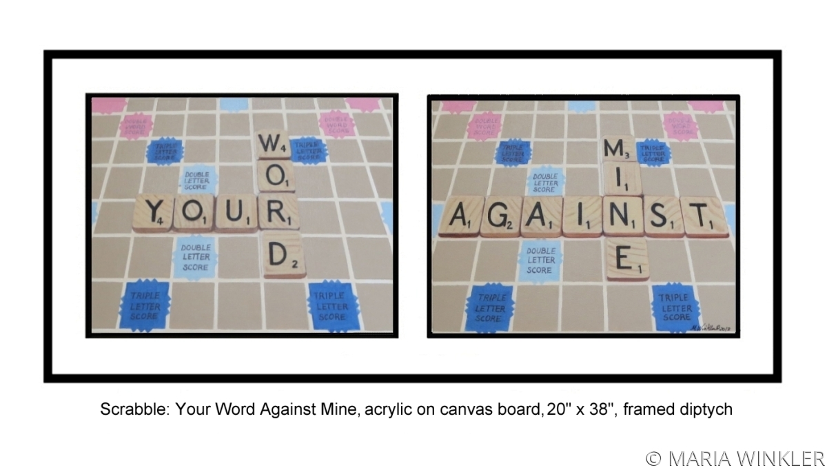 Scrabble: Your Word Against Mine (large view)