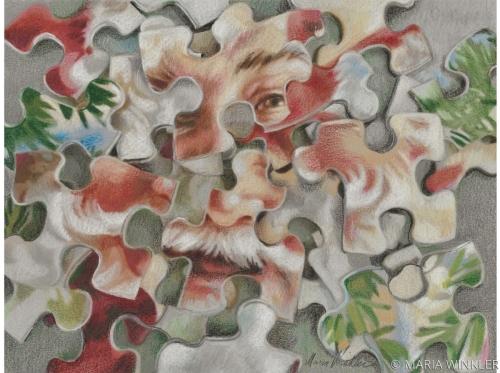Santa Puzzle 2