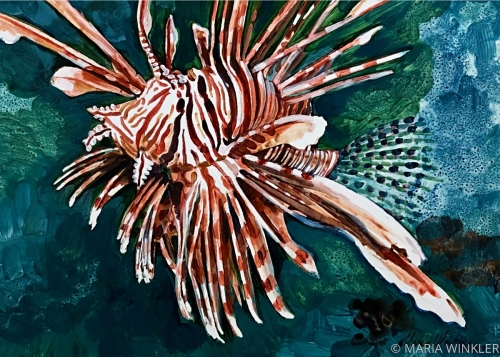 Lionfish by MARIA WINKLER