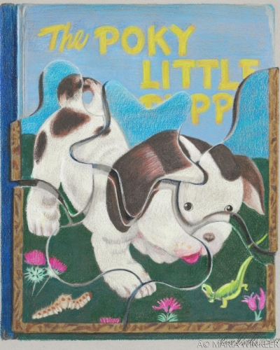 The Poky Little Puppy Book/Puzzle by MARIA WINKLER
