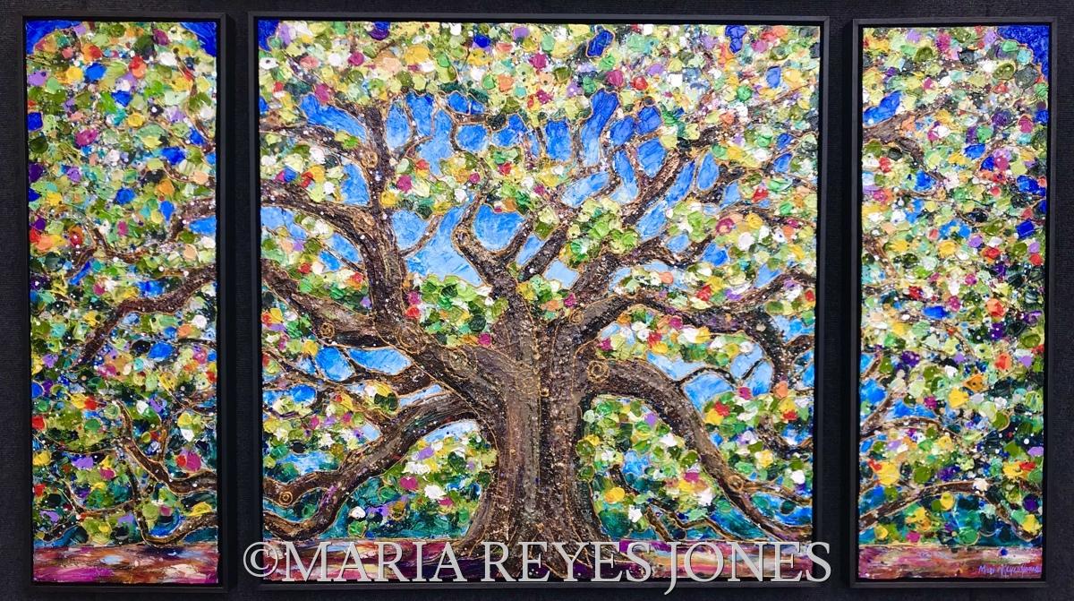 Great Oak Triptych (large view)