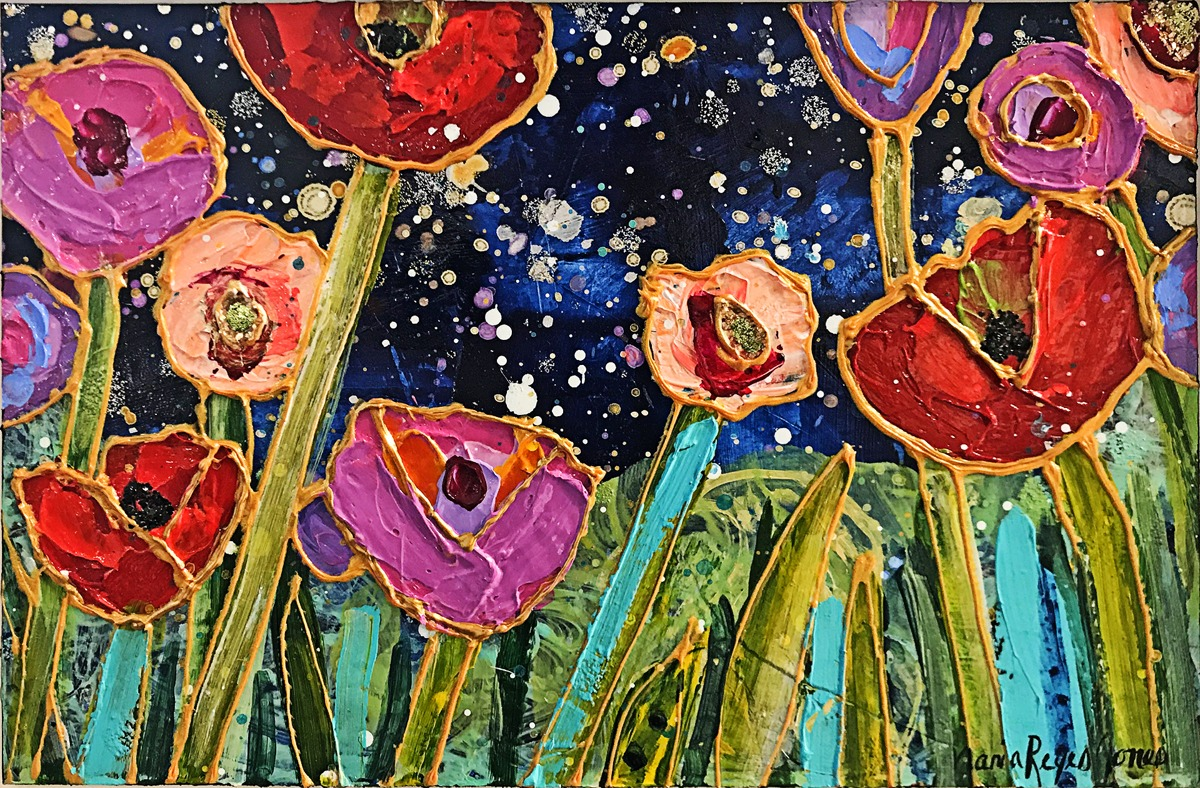 Starry Night Garden (large view)