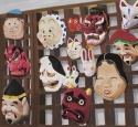 Japanese masks (thumbnail)