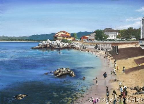 Monterey Beach (large view)