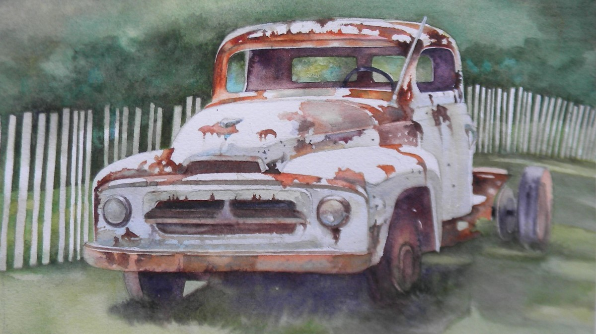 """""""Happily Rusting Away"""" (large view)"""