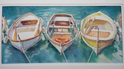Three Boats in Cinque Terre