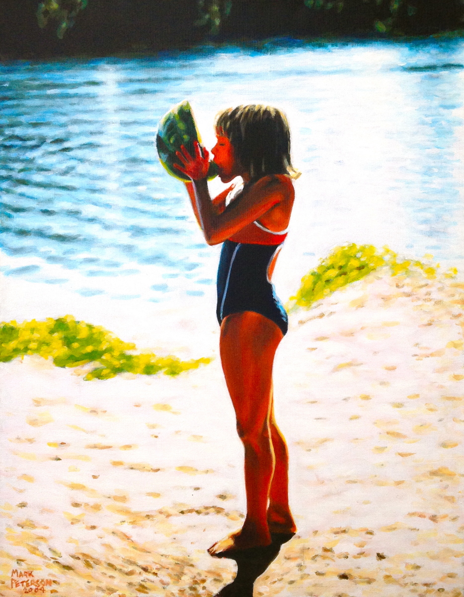 Watermelon Girl (large view)