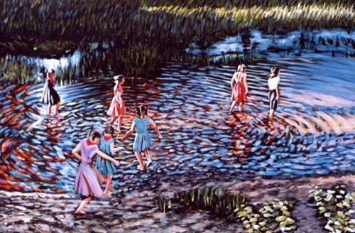 Waders by Paintings by Mark Peterson