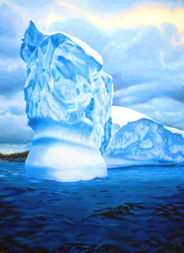 Antarctic Iceberg (large view)