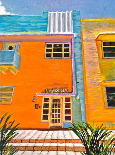 Norma Apartments by Paintings by Mark Peterson