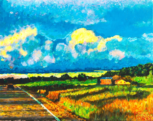 Pastoral Wisconsin by Paintings by Mark Peterson