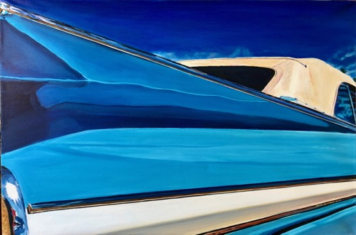 Chevrolet Blues by Paintings by Mark Peterson