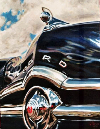 1949 Ford by Paintings by Mark Peterson