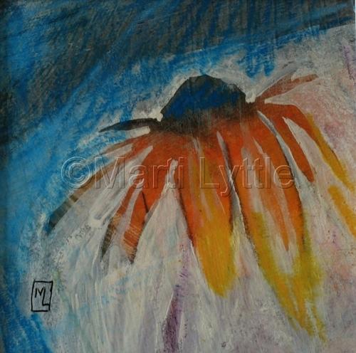 Corn Flower I by Marti Lyttle