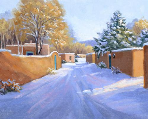 Fresh Snow, Santa Fe