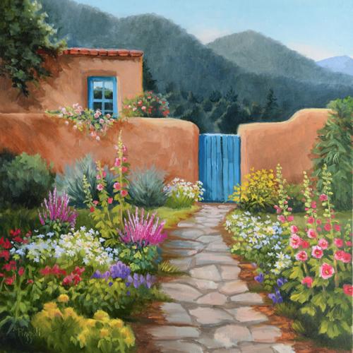 Upper Canyon Road Garden