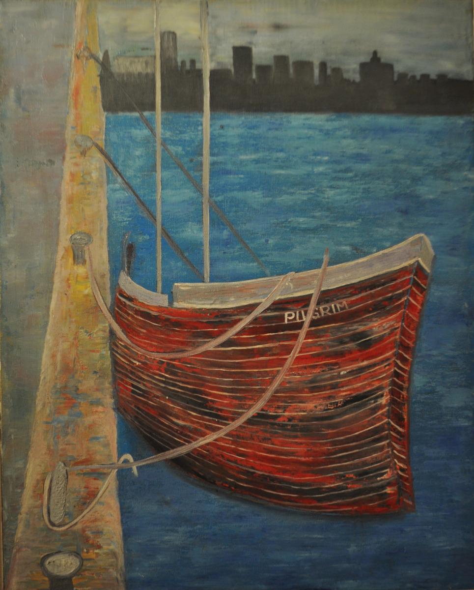Pilgrim Red Boat (large view)