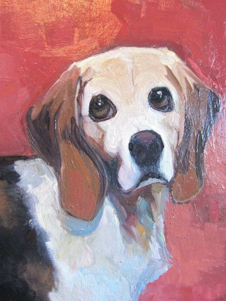 beagle (detail) (large view)