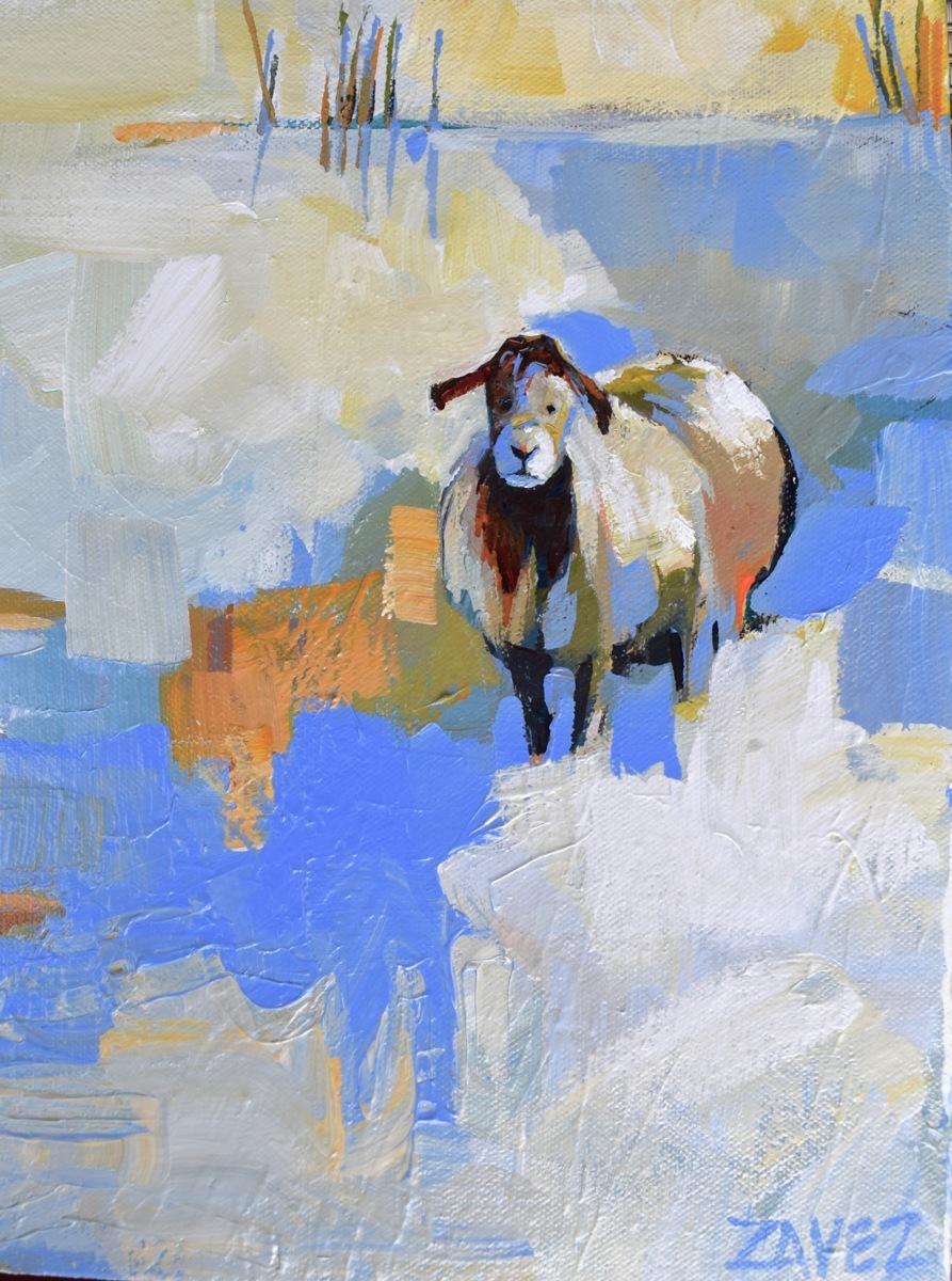 Lone Sheep (large view)