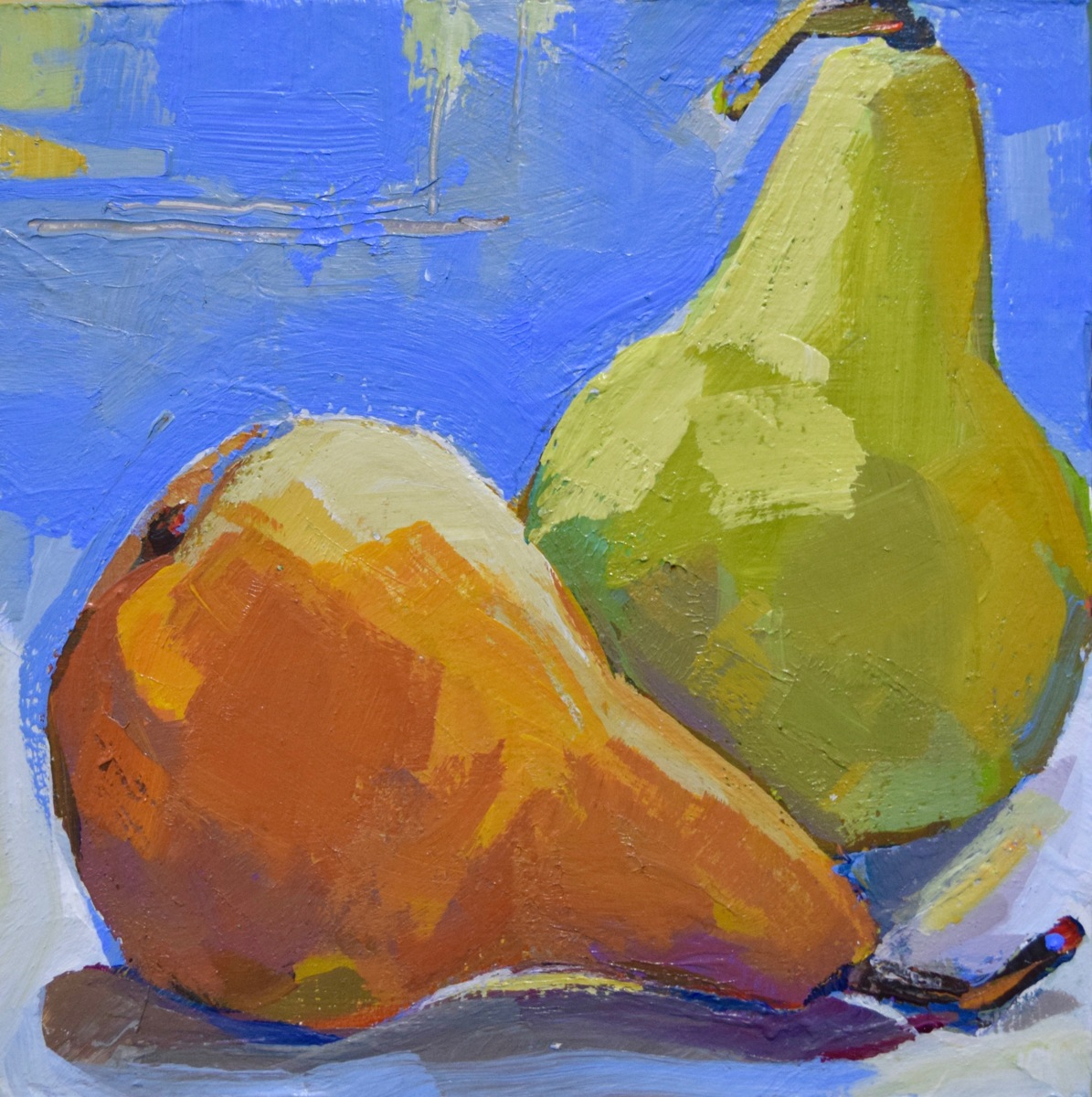 Two Pears (large view)