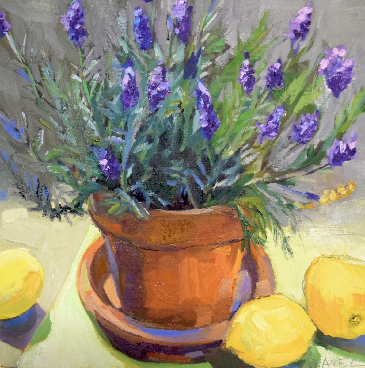 Lavender with Lemons (large view)