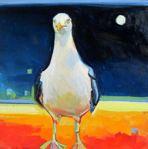 Moonlit Gull