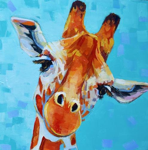 Sweet Little Giraffe