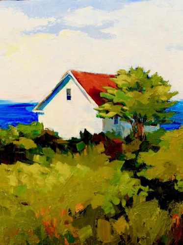 A little house by the Sea