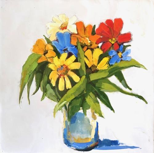 Wild Flowers From a Friend (framed)