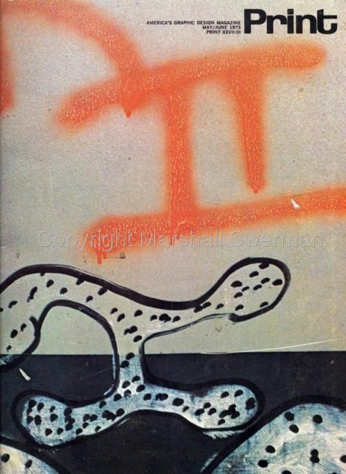 Print Magazine Cover by Marshall Swerman