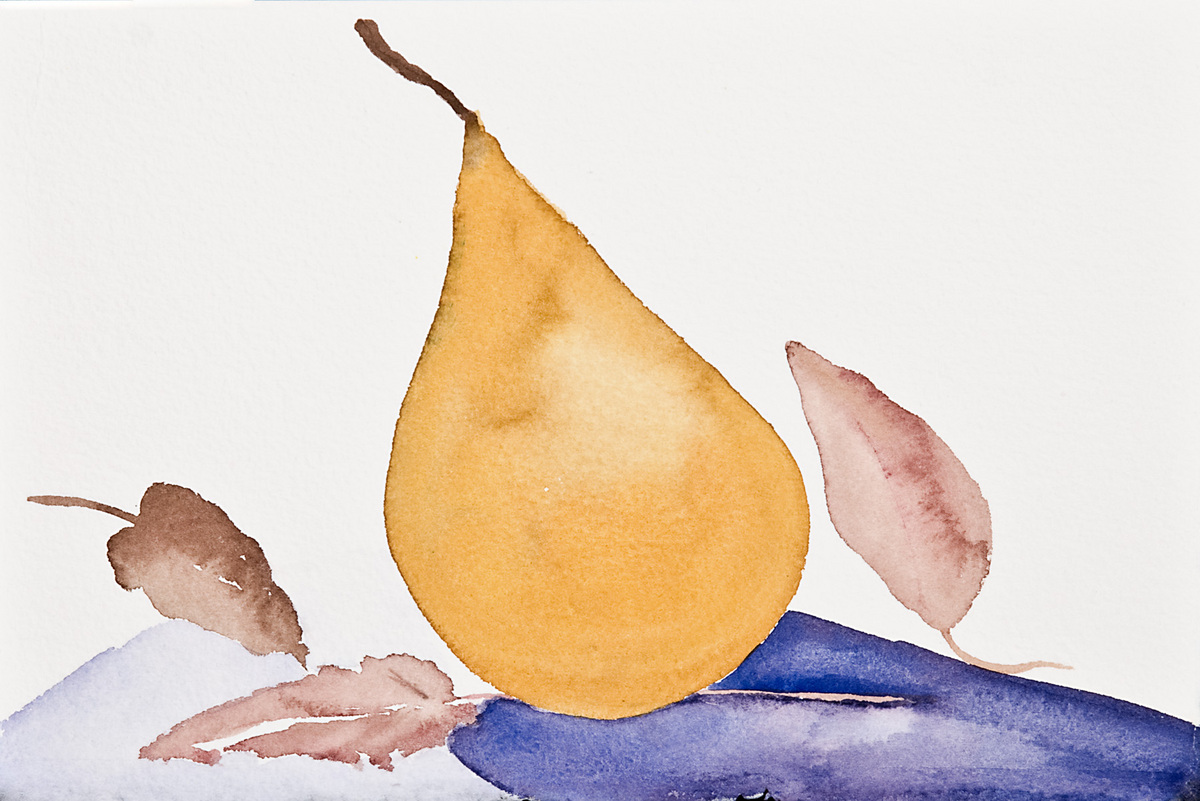 Pear 1, 1999 (large view)