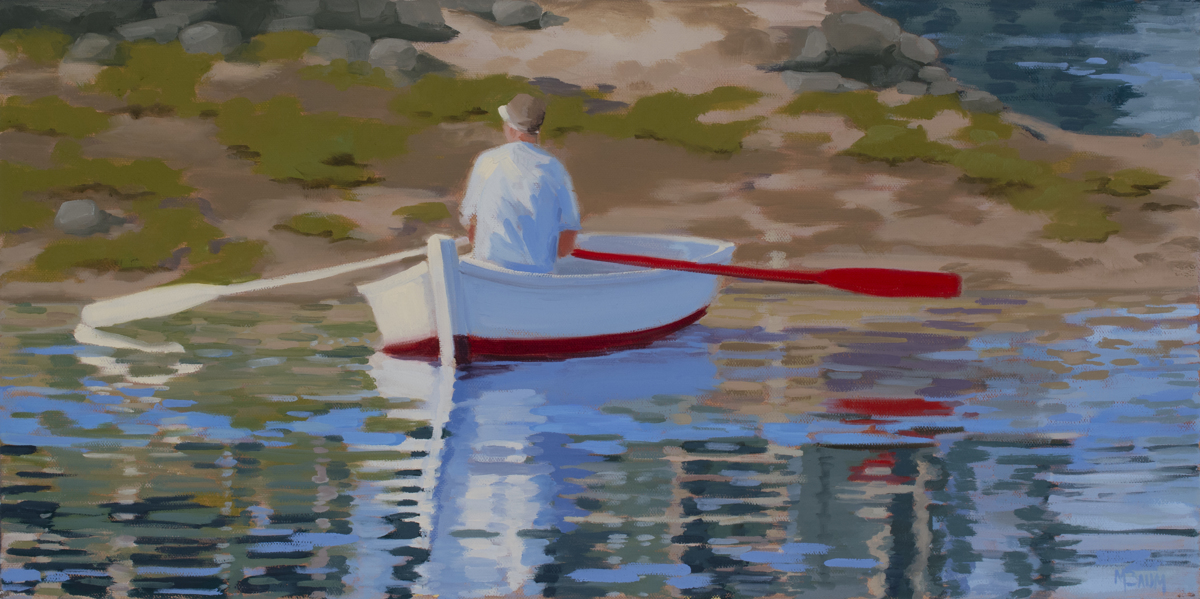 Harpswell Rower (large view)