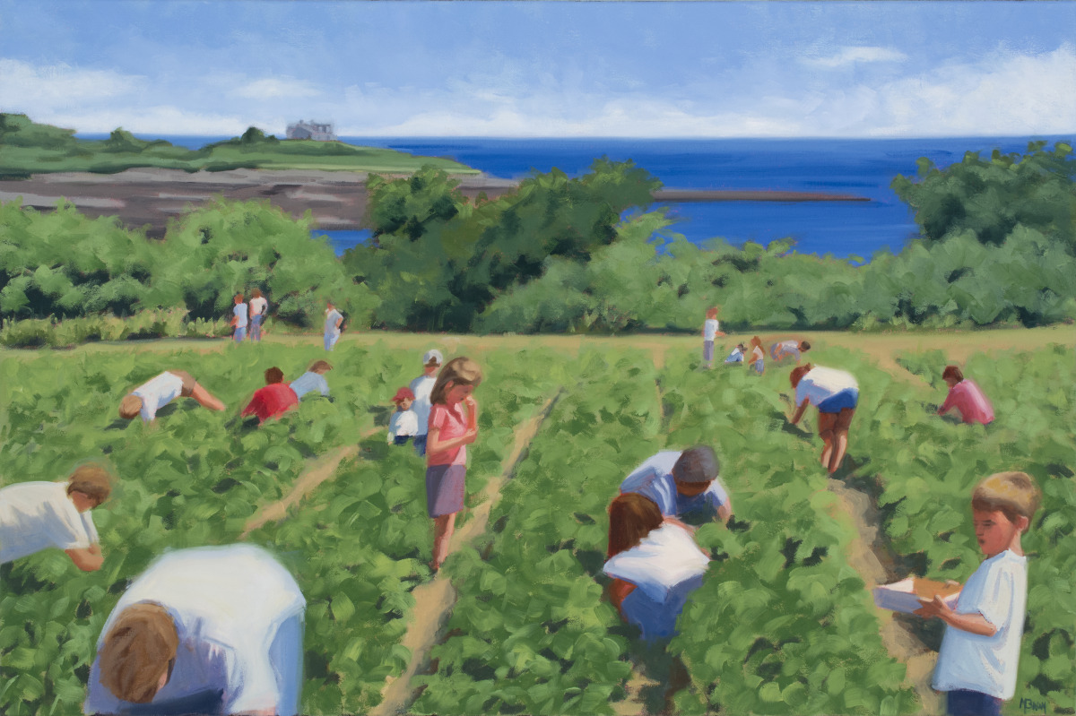 Strawberry Picking - Maxwell's (large view)