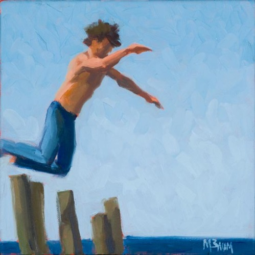Monhegan Island Jump (large view)