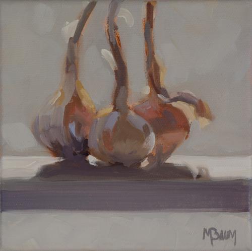 Three Shallots by Martha Baum