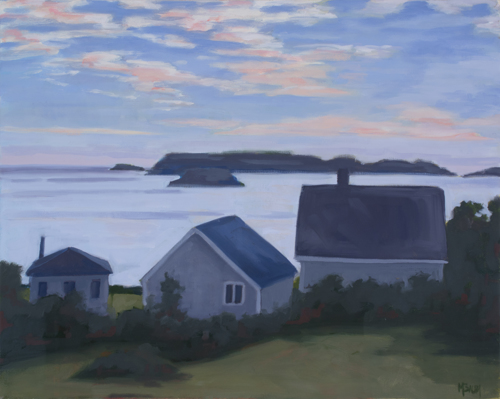 Harpswell Sunset (large view)