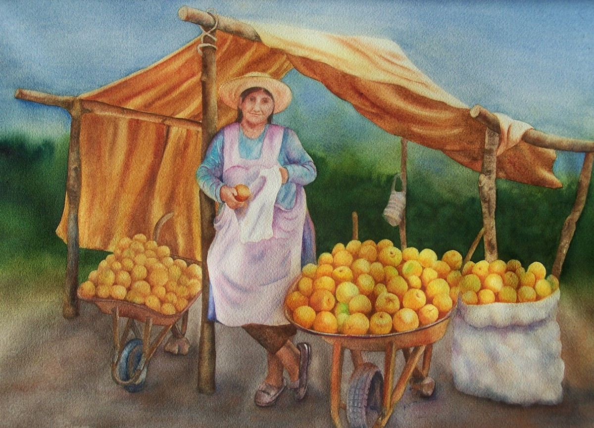 Oranges for Sale. (large view)
