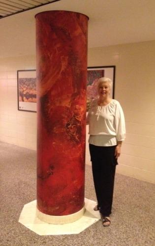 Maryann at Art Underground in Crystal City (Arlington, VA)
