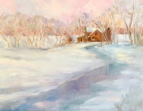 Sky of Frozen Pink, Winter