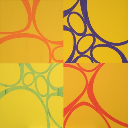 Quadrus 7 by Mary Calkins Art