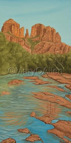 Monument Rock, Oak Creek, Sedona, AZ