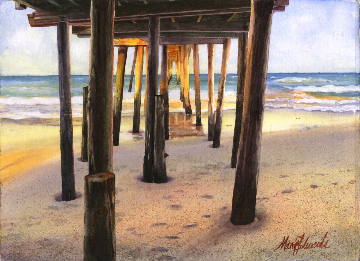 Nags Head Pier V (large view)