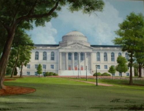 Wilson Library, UNC-Chapel Hill