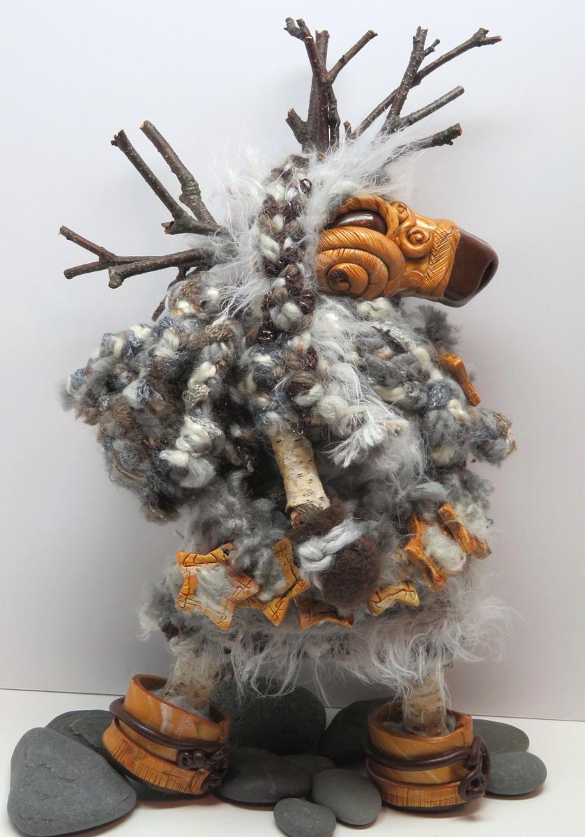 Pack-Backing Reindeer Goddess (large view)