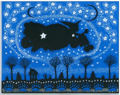 Starry Witch & Bear